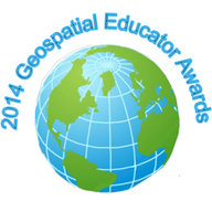 2014 Geospatial Educator Awards logo