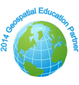 2014 Geospatial Education Partner logo.